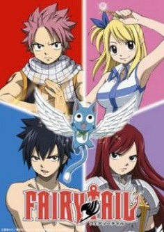 Fairy Tail. An anime about wizard guilds in the fictional kingdom of Fiore. I looove the soundtrack they have on this show!