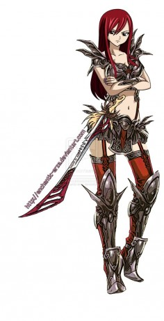 fairy tail erza