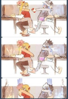 fairy tail: kawaii gale and  That and gamer boyfriends. Yawwwn ~