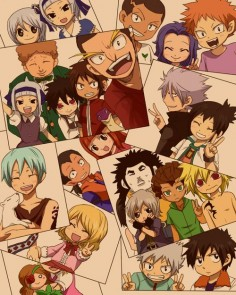 Fairy tail kids!