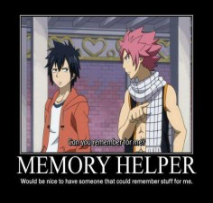Fairy Tail - memory helper