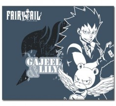 Fairy Tail Season 4 Gajeel and Lily Throw Blanket