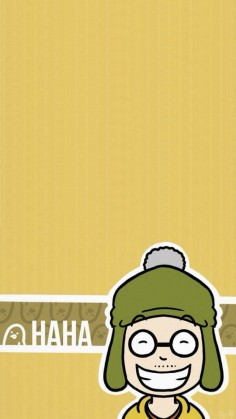Famous Korean Variety Show - Cartoon Running Man Haha iPhone wallpaper @mobile9