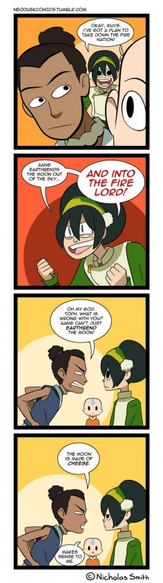 Fandumb #102: They Dated So He Knows (Avatar) by Neodusk on DeviantArt