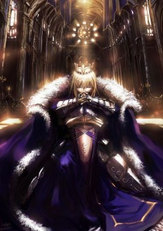 Fate/Stay Night / Fate/Zero - Saber