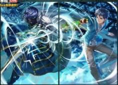 Fire Emblem 0 Trading Cards, Chrom and Itsuki Aoi (Genei Ibun Roku #FE)