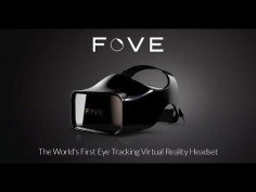 FOVE VR differs from the likes of Oculus Rift and PlayStation VR because it offers interactive eye-tracking. Inside the headset is an infrared sensor that monitors the wearer's eyes