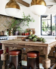 French Moroccan Style Kitchen