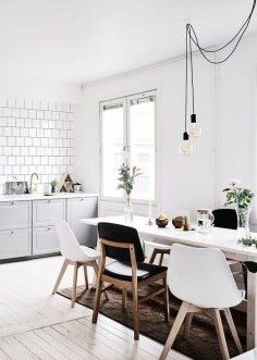 fresh style | swedish apartment