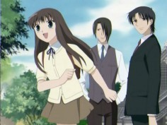 "Fruits Basket Buzzfeed: ""A young orphan girl comes to live with a family possessed by animals of the Chinese zodiac. Essentially, if she embraces them, they turn into the animal that possesses them. It's cute, funny, and expectedly heartfelt."" Me: AND THEN IT GETS SLOWER DARKER AND DARKER AND THE MANGA IS PITCH BLACKNESS!!! But it's great."