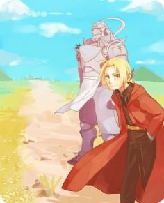 #Fullmetal #Alchemist #Alphonse #Elric #Edward #Elric #brothers