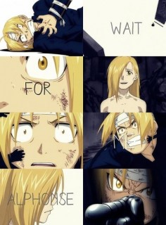 Fullmetal Alchemist: Brotherhood Ed and Al