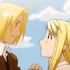 Fullmetal Alchemist: Brotherhood - Edward and Winry ♥