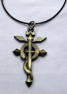 Fullmetal Alchemist Edward Elric Necklace FMNL2885