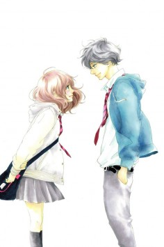 Futaba and Kou ~ Ao Haru Ride