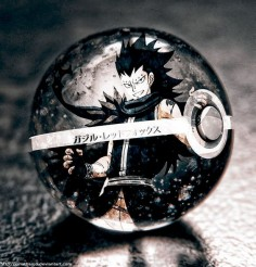 Gajeel Redfox in a Pokeball by Jonathanjo on DeviantArt
