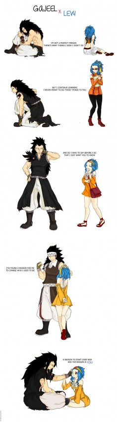 Gajeel x Levy -- Fairy Tail gale