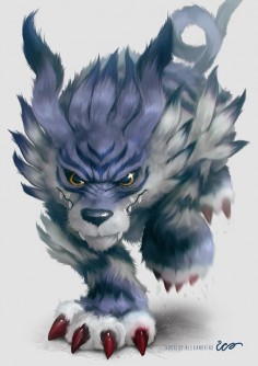 GARURUMON by Rodrigo Alexandrino ICO, via Behance
