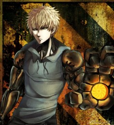 Genos with a steampunk style ...Humm not Bad