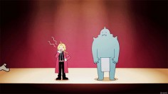 [gif] 5 Panel Theater FMAB OVA This sums up the whole show (without some of the emotional trauma)