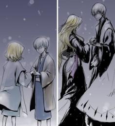 gin-ichimaru: [ I promise that I'll make it all better, Rangiku. 'Least, I'll try  with everything I've got. ] ~~ Oh god I miss him