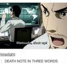God damn it, Matsuda!