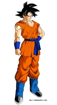 goku by naironkr on @DeviantArt
