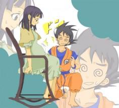 goku + chichi