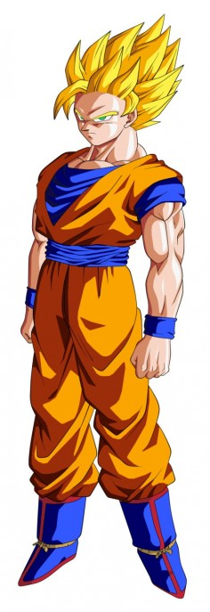 Goku SSJ2 by BardockSonic on deviantART