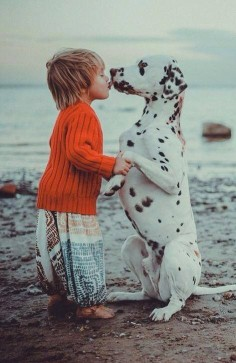 Good Morning by Fulden Arman #Photography #Dogs #Kids
