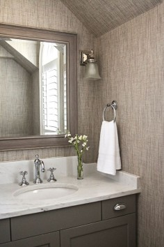 Gray bathroom cabinet paint color