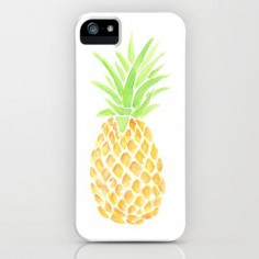 Great Gift! Pineapple Watercolor iPhone & iPod Case