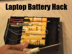 Hack: Laptop Battery Dead laptop battery? Don't buy a new  the old one! Here's how!