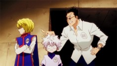 Haha! Killua's face is hilarious!