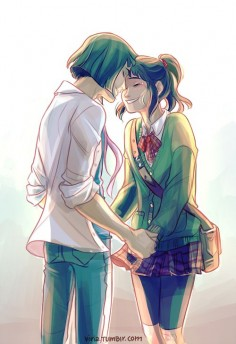Haku and Chihiro to meet eventually after all those  this makes my heart so happy