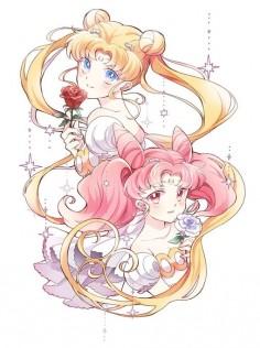Happy Birthday, Usagi & Chibiusa! (June 30th)