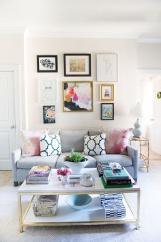 Heloise McKee's Washington,  Apartment Tour #theeverygirl