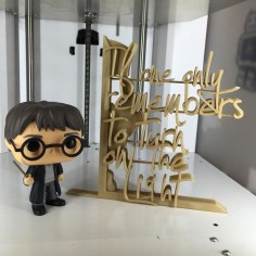 """Here is the 3D print in our new """"champagne"""" colour #3dprint #3dprinting #3dprint #3dprinted #render #keyshot #visualisation #harrypotter #hp #deathlyhallows #dumbledore #dumbledoresarmy #books #book #bookend #hpismagic # by bespoke3dprinting"""