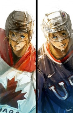 Hetalia - America and Canada