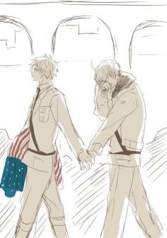 Hetalia - America / England