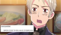 Hetalia: As described by popular text posts