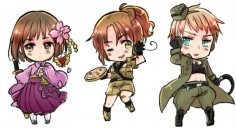hetalia beautiful world chibi - Google Search