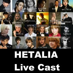 Hetalia Live  agree with most of these, but I think Rupert was a weird choice for Lithuania seeing as liet isn't a