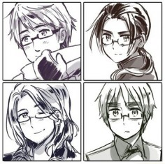 Hetalia Russia China France England