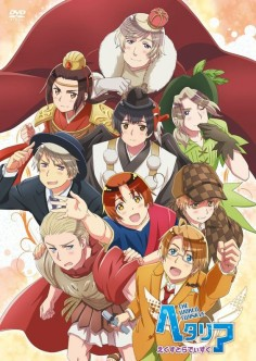 Hetalia: The World Twinkle- Halloween Special Official Poster [United States,Germany,United Kingdom of Great Britain and Northern Ireland, Italy, Prussia,France,Japan,Peoples Republic of China, and Russia]