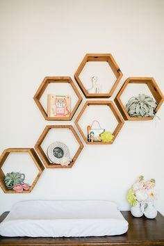 Hexagon shelving Mein Blog