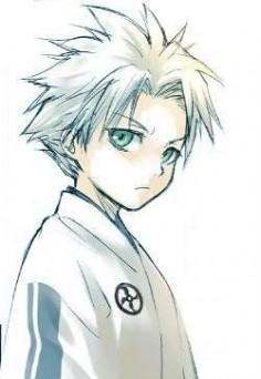 Hitsugaya Toshiro from bleach anime.