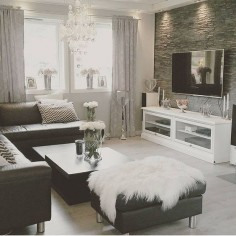 Home Decor Inspiration sur Instagram : Black and white, always a classic. Thank you for the tag @Kat-jas