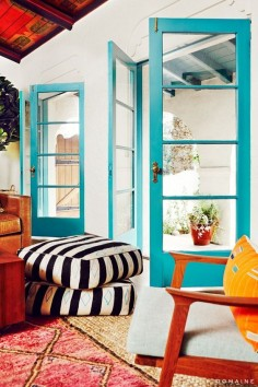 Home Tour: The Eclectic LA Home of a Breaking Bad Star via @Domaine Home