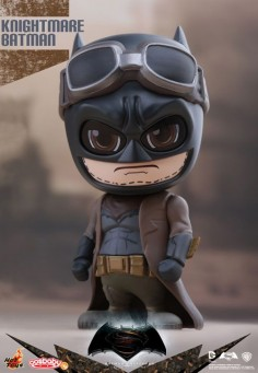 Hot Toys - Cosbaby (S) Series COSB225-227 - Batman v Superman: Dawn Of Justice - Armored Batman (Battle Damaged Version), Knightmare Batman and Aquaman - The Falcon's Hangar